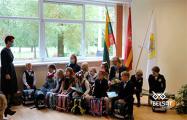Президент Литвы посетил гимназию имени Франциска Скорины в Вильнюсе