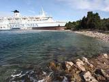 В Хорватии пьяный капитан пришвартовал паром на берегу