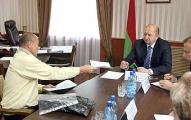 Строительная тема доминировала на приеме граждан главой КГК Беларуси Якобсоном