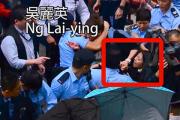 В Гонконге женщину посадили за толчок полицейского грудью