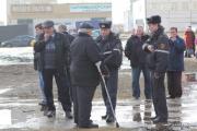 Несколько сотен человек протестовали против уплотнения в Уручье (Фото)