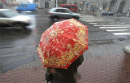Дожди в Беларуси будут идти все выходные