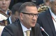 Украинский посол и Путин поспорили об аннексии Крыма на саммите в Бишкеке