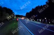 В поселке Нарочь на акцию солидарности вышли около 200 человек