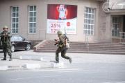Отделение МВД в Мариуполе штурмовали «мирные люди» с автоматами и РПГ