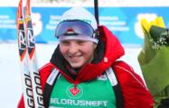 Белорусская биатлонистка завоевала юниорский Большой хрустальный глобус