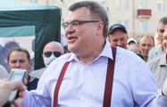 Белорусы требуют освободить Виктора Бабарико