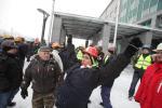 Польские шахтеры начали забастовку (Видео)