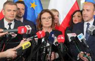 В Польше началась предвыборная кампания