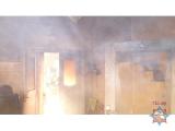 Пожарный извещатель спас жизнь пенсионеру в Копыльском районе
