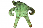 Найдена фигурка с параллельной надписью на древнейшем индийском
