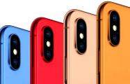 Новые iPhone выйдут в синем, оранжевом, красном и золотом цветах