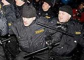Немецкие полицейские обменяются опытом с белорусским ОМОНом