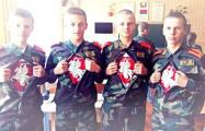 Автор фото с «Погоней» вернулся на учебу в кадетское училище