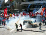 Турецкая полиция разогнала демонстрацию против МВФ