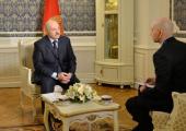 Лукашенко дал интервью телерадиокомпании «Мир»