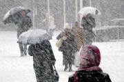 Сильный ветер и мокрый снег в Беларуси прогнозируют синоптики