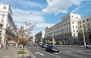 Завтра в Минске перекроют проспект Независимости
