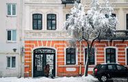 Западную Беларусь замело снегом