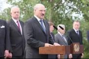 """Александр Лукашенко заложил капсулу на месте концлагеря """"Тростенец"""""""