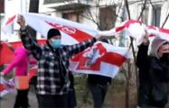 Минские партизаны вышли на мощный марш в Тракторном
