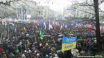 Сто тысяч украинцев вышли на Евромайдан (Видео)
