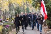Дзяды в Варшаве: белорусы посетили могилы известных земляков