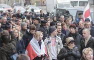 «Немецкая волна»: Над главным проспектом громко раздавались лозунги «Жыве Беларусь!» и «В отставку!»