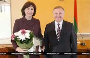 Кочанова, Зиновский и Светлов удостоены благодарности Лукашенко за подготовку Всебелорусского народного собрания