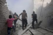 25 школьников погибли во время бомбардировки в Сирии