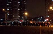 Районы Степянки и Ангарской объединились и провели совместный марш