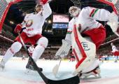 Сборная Беларуси продолжает проигрывать на ЧМ по хоккею