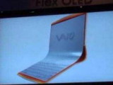 Sony показала прототип ноутбука с гибким OLED-дисплеем
