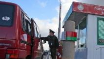 На белорусско-литовской границе парализовано движение