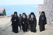 Архиепископ Гурий встретил делегацию афонитов с великими христианскими святынями