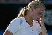 Белоруска Ольга Говорцова проиграла на старте теннисного турнира в Португалии