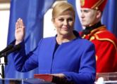 В Хорватии вступила в должность первая женщина-президент