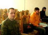 Агитацию Франак Вечерко начал под наблюдением прапорщика (Фото)