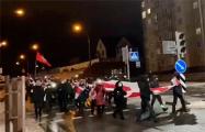 На улице Маршала Лосика состоялся массовый марш