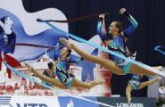 Белоруски завоевали две бронзы в групповых упражнениях на международном турнире по художественной гимнастике в Софии