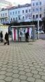 На Немиге вывесили бело-красно-белые флаги