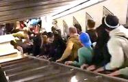 В метро Рима произошла авария на эскалаторе с российскими болельщиками