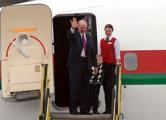 Самолет Лукашенко долетел до Москвы