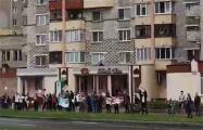 В Полоцке люди выстроились в цепь солидарности