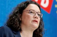Глава немецких социал-демократов уходит в отставку со всех постов