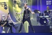 """Группа Litesound проводит последнюю репетицию на сцене """"Евровидения-2012"""" перед судейским голосованием"""