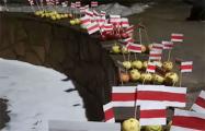 Жители Грушевки устроили «яблочный марш»