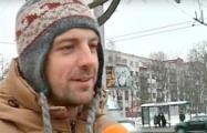 Минчане о протестовавший на кране женщине: Только так можно привлечь к себе внимание