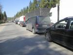На границе с Литвой - огромные очереди