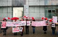 Белорусы Гамбурга открыли серию пикетов против корпорации Körber AG